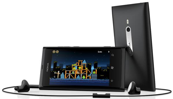 nokia lumia 800 smartphone iphone windows