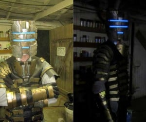 Shawn Thorsson's Dead Space 2 RIG Suit Costume: Bet Yours Sucks Compared to His