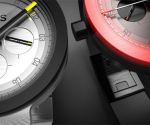 MINUS 8 Watches: LED-Like Colors from Anodized Aluminum