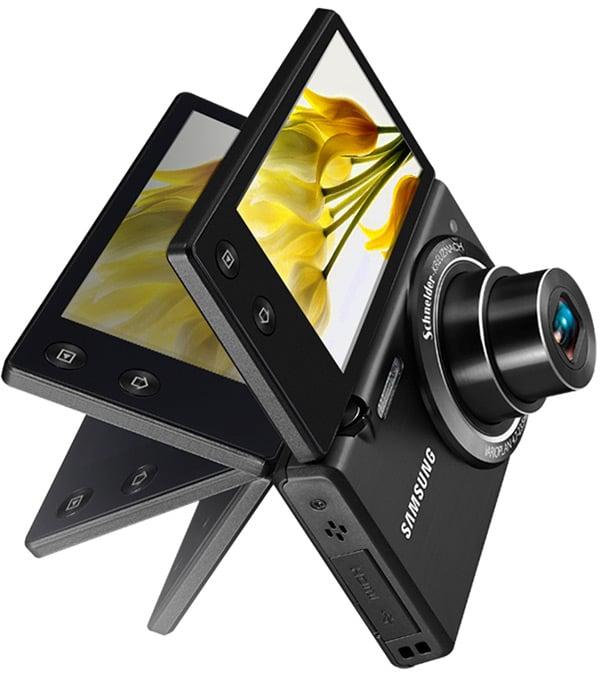 samsung mv800 flip screen multiview camera point and shoot