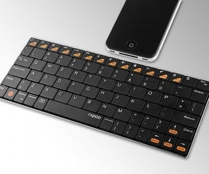Rapoo E6300 Bluetooth Keyboard Packs an Odd Name But Thin Style