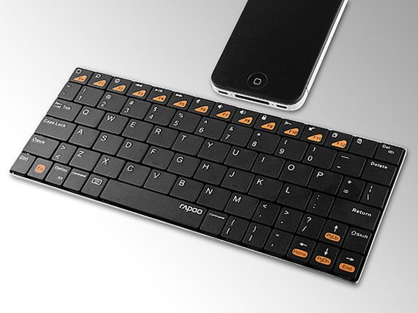 rapoo keyboard mobile computing bluetooth tablet smartphone e6300