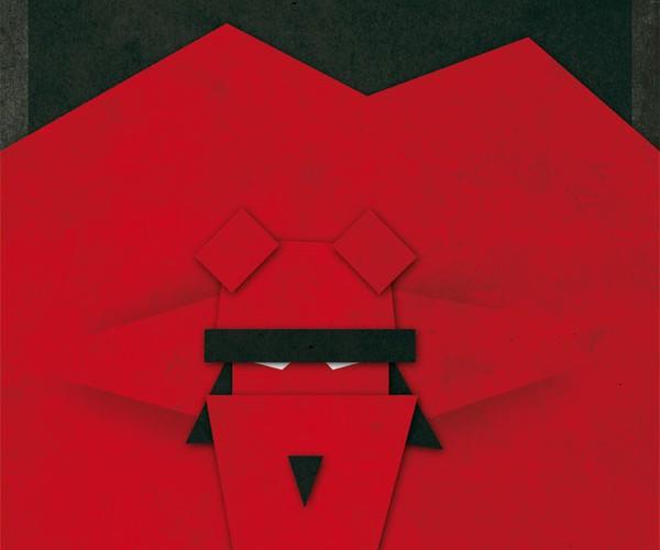 Gregoire Guillemin papercraft design superheroes art geek
