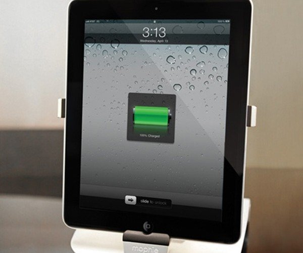Mophie Powerstand for iPad: Charge and Rotate at the Same Time