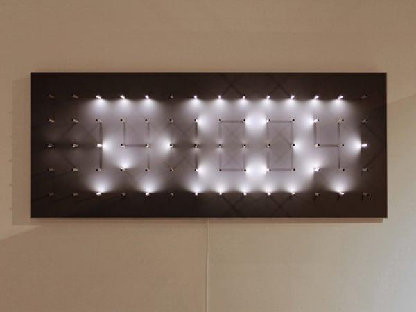 random international study in time art installation contemporary timepiece