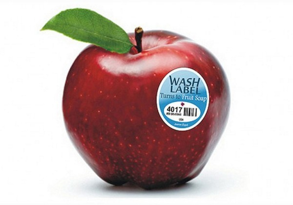Fruitwash Label