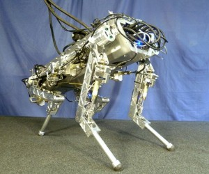 HyQ Quadruped Robot Kicks, Trots and Rears Up