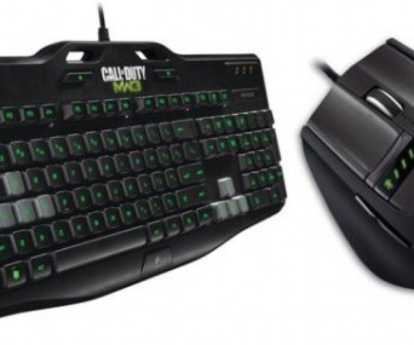 Logitech Releases Call of Duty: Modern Warfare 3 Keyboard and Mouse