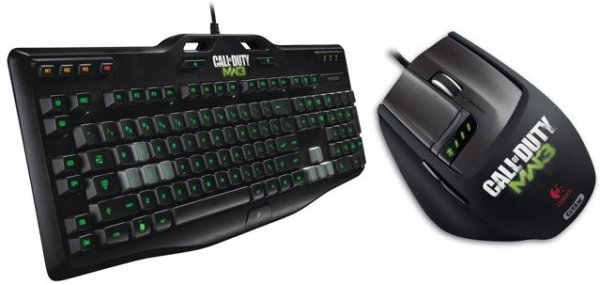 Logitech call of duty mw3 mouse and keyboard