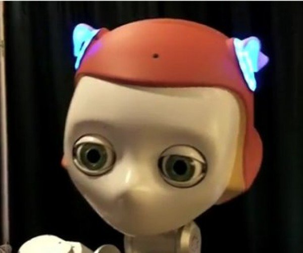 Meka's Robot Girl May Be the Girl of Your Dreams/Nightmares