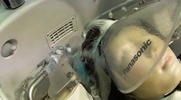 Panasonic Shampoo Robot