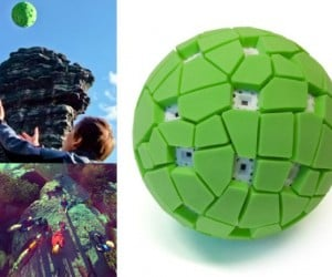 Throwable Panoramic Ball Cam Gives You a 360 Degree View