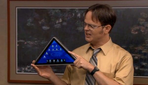 Pyramid Shaped Tablet