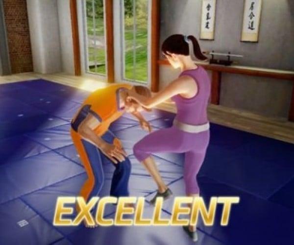 Kinect Game Teaches You Self-Defense