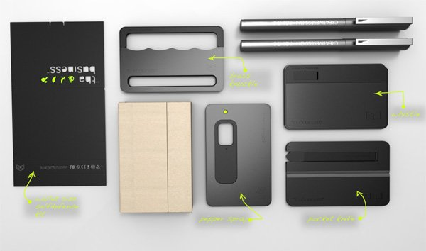 Tha Business Self Defense Kit Will Give You All the Cards You Need