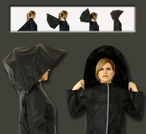 Umbrella Coat Raincoat1