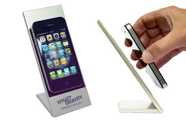 What? Gravity iPhone Holder