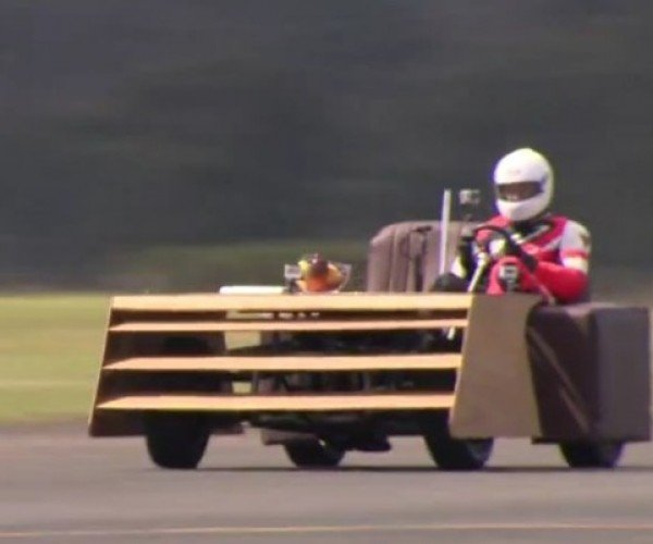 World's Fastest Couch Hits 101 Miles Per Hour