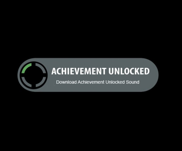 Ringtone Unlocked: Achievement Unlocked Sound Officially Released