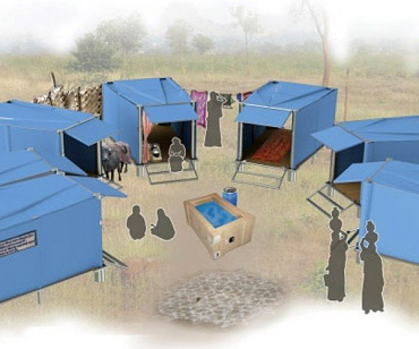 Almost Home Shelters: Easy to Assemble Housing for Disaster Relief