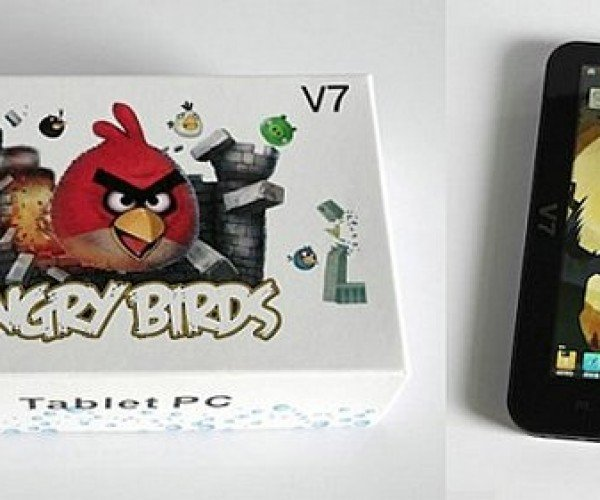 Angry Birds 7 Inch Tablet is Sure to Make Rovio Angry