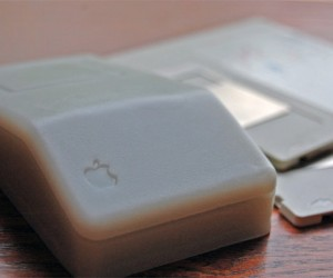 Macintosh ADB Mouse Soap Bar Guaranteed Not to Move your Cursor, But Will Get You Clean
