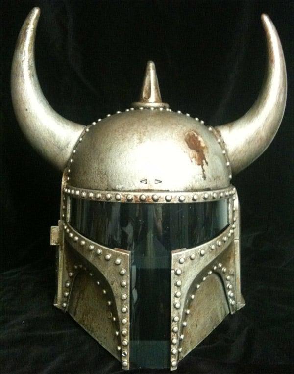boba fett viking helmet 1