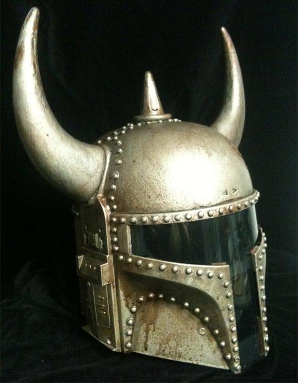 boba fett viking helmet 2