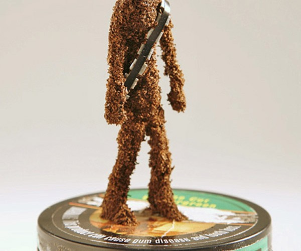 Chewbacco: Use the Force to Put a Pinch Between Your Cheek and Gum