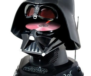 Darth Vader CD Player: A Long Time Ago… We Still Listened to Compact Discs
