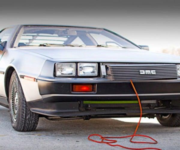 Electric DeLorean DMCEV Lacks Flux Capacitor, Still Looks Great (Scott!)