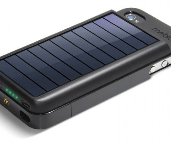 Eton Mobius Solar iPhone Charging Case: Juice Up with the Sun