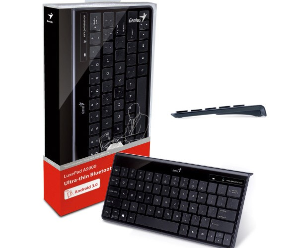 Genius Outs Thin LuxePad A9000 Keyboard for Android Tablets