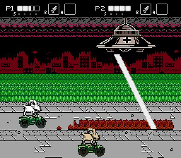 goats vs nazis nes game 2