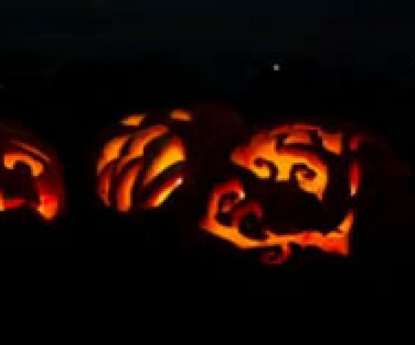 Google Carves Massive Pumpkins into Logo Doodle