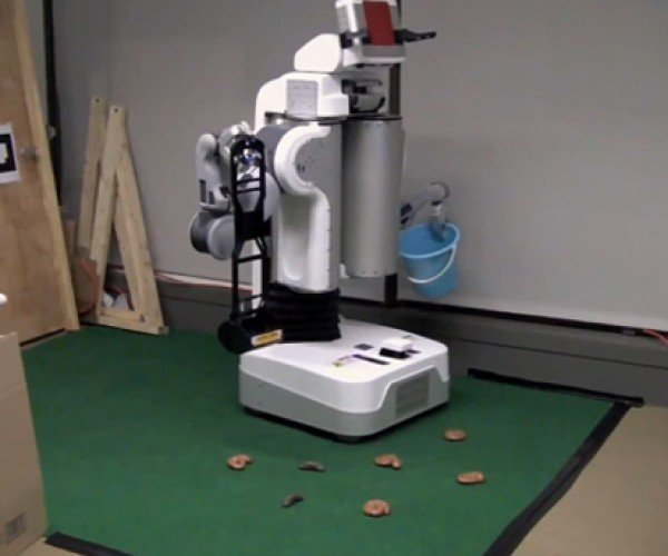 Robot Programmed to Pick Up Poop: It's Sh*t Like This That Will Bring Skynet on Our Asses