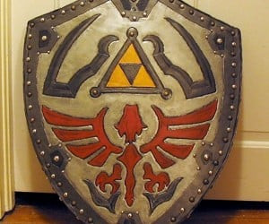 Going as Link for Halloween? Finish Off Your Costume with a Real Hylian Shield
