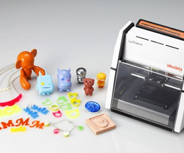 iModela 3D Milling Machine Creates Tiny Figures on Your Desktop