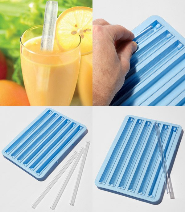 ice straw mold