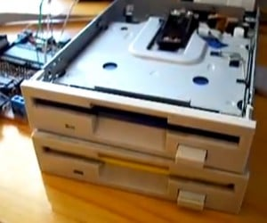 Imperial March on Floppy Drives: the Empire Strikes Hack
