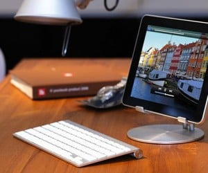 Just Mobile's UpStand: An Upstanding iPad Stand