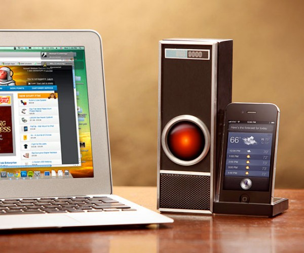 ThinkGeek IRIS 9000 Dock Controls Siri, Won't Try to Kill You (Unless Your Name is Dave)