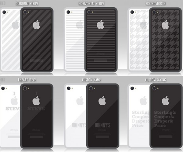 iTat: Customize and/or Scar Your iPhone 4 Life. Yo.