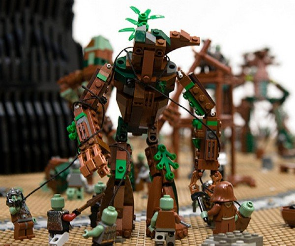 last march of the ents lego by the one lug 7