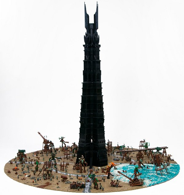last march of the ents lego by the one lug