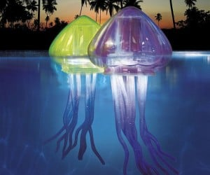 These Floating LED Jellyfish Don't Sting
