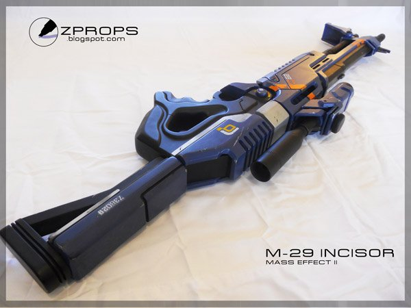 mass effect 2 m 29 incisor rifle 2