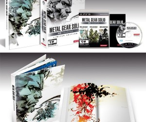 Metal Gear Solid HD Collection Upgrades Graphics, Limited Edition Adds 248-page Art Book