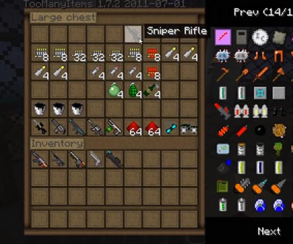 Minecraft SDK Gun Mod: Counter-Craft