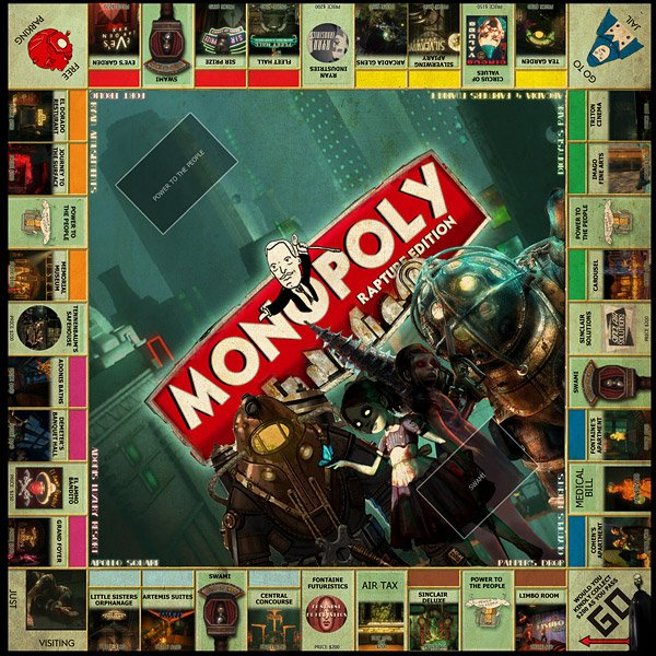 monopoly rapture edition 1